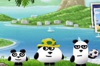 3 Panda Brezilya'da