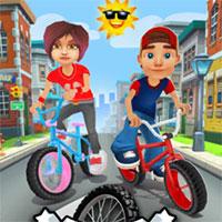 3D Bisiklet Sürme