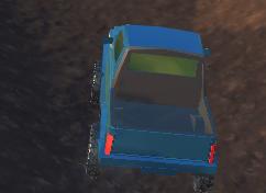 3D Dağda Jeep Sürme