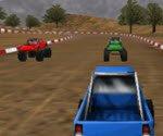 3D İki Kişilik Araba Yarışı