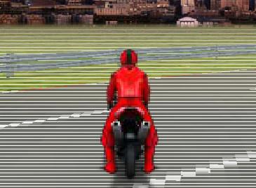 3D Motorsiklet Yarışı