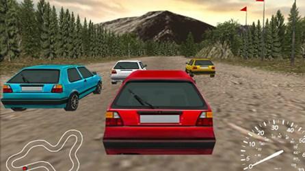 3D Rally Yarışı
