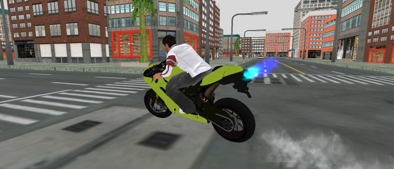 3D Serbest Motosiklet Sürüşü