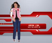 Adriana Lima'yı Giydir