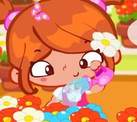Afacan Çiçekçi Kız