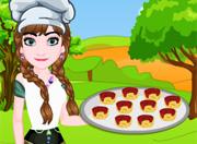 Anna Pizza Yapıyor