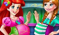 Ariel ile Anna Hamile