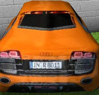 Audi R8 Drift