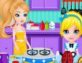 Bebek Barbie Çay Partisi