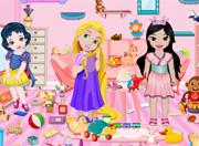 Bebek Rapunzel Oda Temizleme