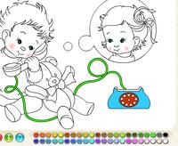 Bebekleri Boya