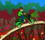Ben 10 yeşil Bisiklet