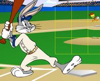 Beyzbolcu Bugs Bunny
