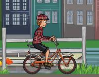 Bisikletçi Çocuk