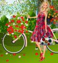 Bisikletli Manken