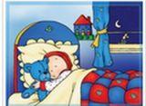 Caillou Uyuyor Yapbozu