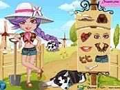 Çiftçi Kız Giydirme