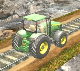 Çiftlik Traktörü Simülatör