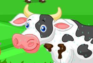 Çiftlikte Süt Sağma