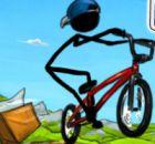 Çöp Adam Bisiklet Akrobasi