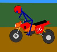 Çöp Adam Motor Yarışı