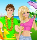 Denizde Barbie Ve Ken Kıyafet Partisi