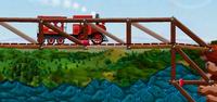 Dinamitle Tren Köprüsü Patlat