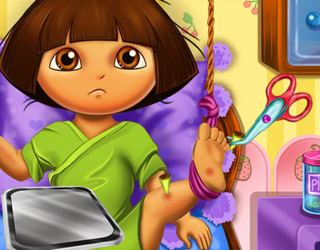Dora Bebek Hastanede