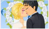 Düğünde Öpücük