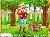 Elma Çiftliği Kız Giydirme