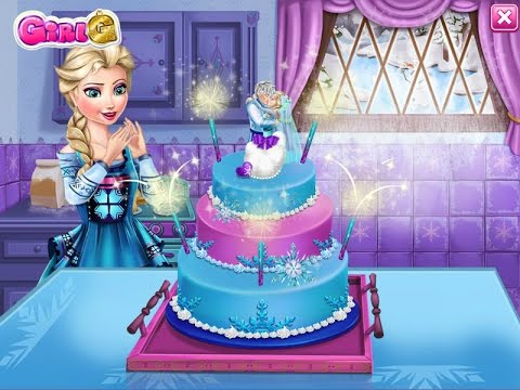 Elsa ile Pasta Yapma
