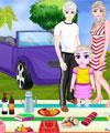 Elsa ve Ailesi Piknikte