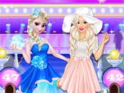 Elsa ve Barbie