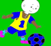 Futbolcu Kayu Boya