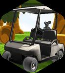 Golf Arabası Park Et 3D