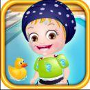 Hazal Bebek Yüzme Zamanı