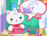 Hello Kity Çamaşır Temizliği