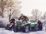 Karda Atv Yarışı