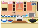 Kirazlı Pasta Pişirme