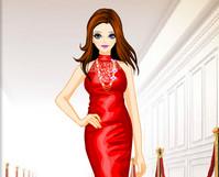 Kırmızı Elbiseli Kız