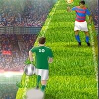 Koşan Futbolcu