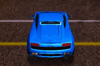 Lamborghini ile Drift Yap