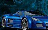 Mavi Araba