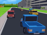 Minecraft Araba Yarışı 3D