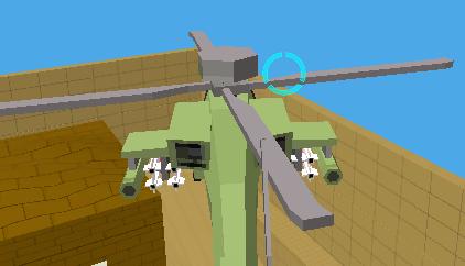 Minecraft Helikopter Sürme