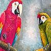 Papağan yapboz