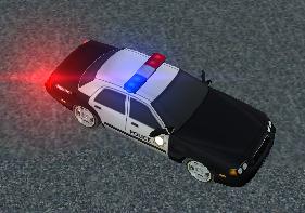 Polis Arabası Park