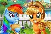 Ponyler Çiftlikte