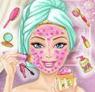Prenses Barbie Gerçek Makyaj