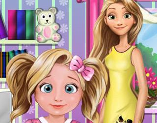 Rapunzel'in Kızı Tembellik
